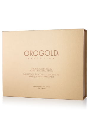 OROGOLD 24K Neck Lifting and Chest Firming Mask box