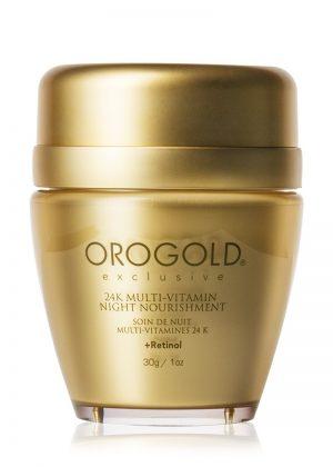 Orogold 24K multi-vitamin night nourishment